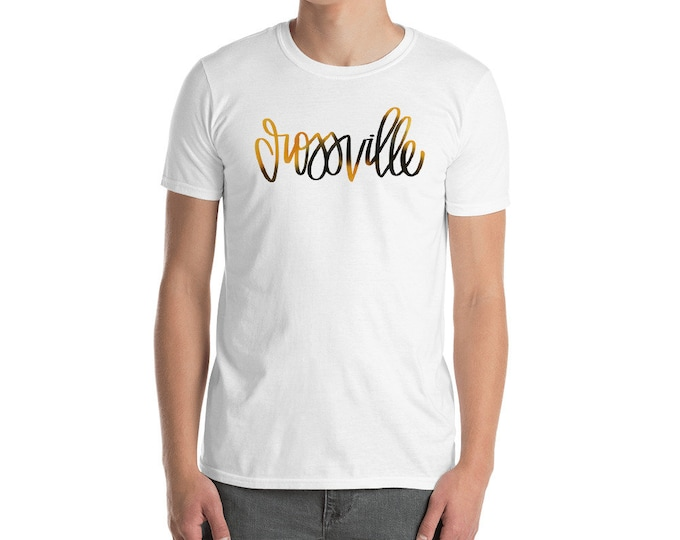 Adult Crossville Watercolor White Tee