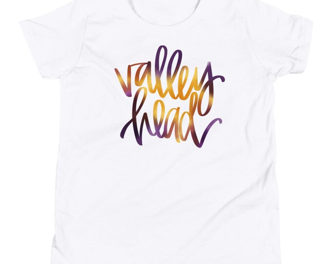 Youth Valley Head Watercolor White Tee
