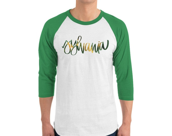 Adult Sylvania Watercolor Raglan