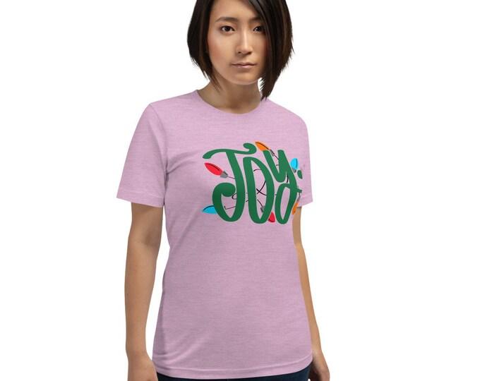 Joy Short-Sleeve Unisex Tee