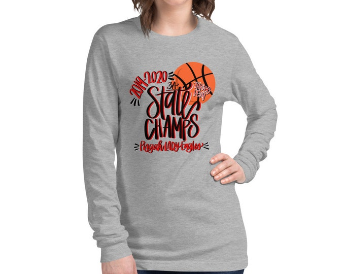 Pisgah State Champs, Grey Long Sleeve Tee