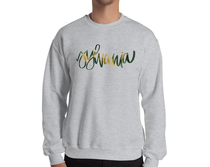 Adult Sylvania Watercolor Grey Sweatshirt