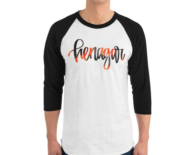 Adult Henagar Watercolor Raglan
