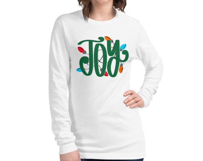 Joy Unisex Long Sleeve Tee