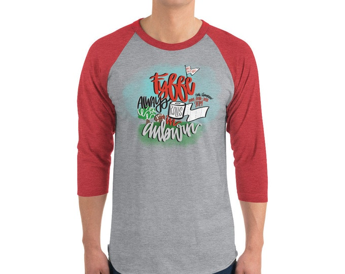 Fyffe State Champ 3/4 sleeve raglan shirt