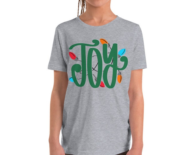 Joy Youth Short Sleeve Tee