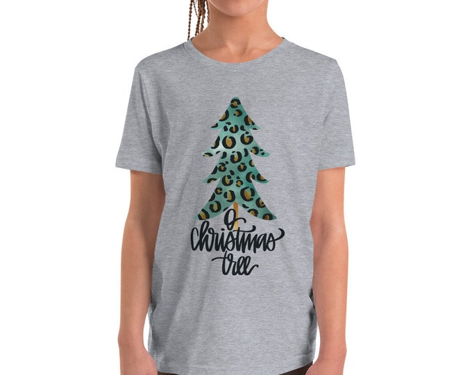 O Christmas Tree Youth Short Sleeve Tee