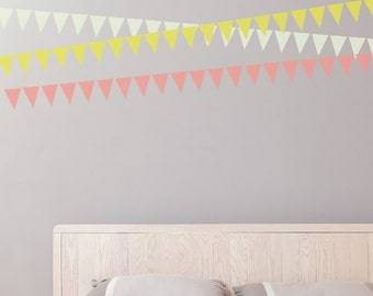 Everyday Bunting Removable Wall Sticker
