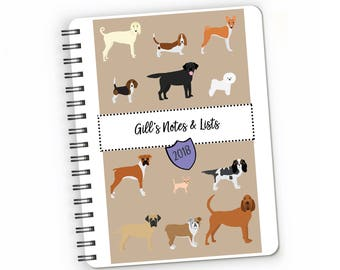 c6f0ba6d9f805 Dog daily planner