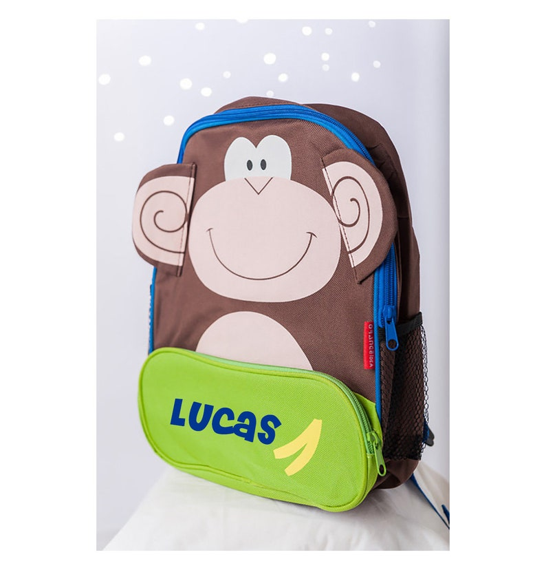 f909c085c5 Monkey Backpack Monkey Bag Monkey Rucksack Toddler