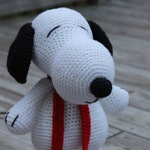 Snoopy, Snoopy Dog, Crochet Snoopy, Crochet Snoopy Dog, Snoopy Toy, Snoopy Doll, Peanuts Caricature, Snoopy Caricature, Mrs Vs Crochet