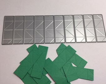 3D Origami 1/64 or 50% easy folding paper cutting die! Savings of 5.78 US, cuts 10 each