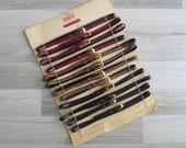 Vintage 50 39 s Deadstock Skinny Plastic Waist Belts XS S M L