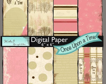 We Are 3 Digital Paper, Once Upon a Time