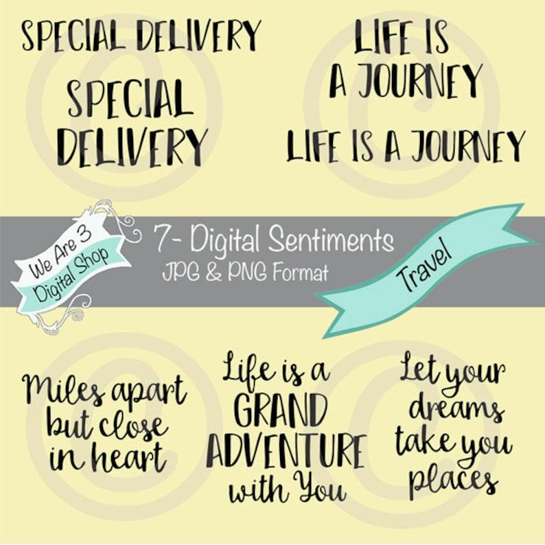 We Are 3 Digital Sentiments  Travel Journey Friendship image 0