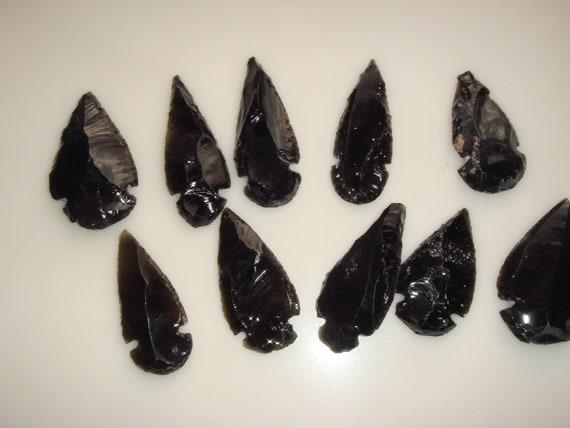 obsidian arrowheads for sale