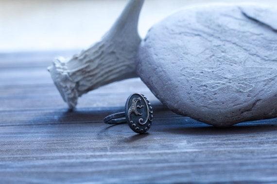 Sterling Silver Norse Mythology Witchcraft Viking Pagan Asatru Dragon Ring Norse Jewelry Jormungandr Ring Serpent Ring