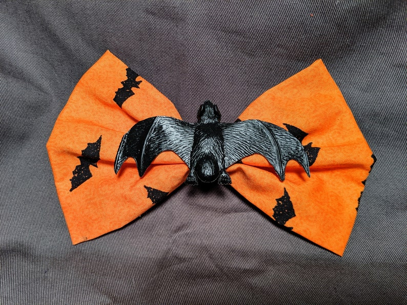 Bat Hair Bow image 0