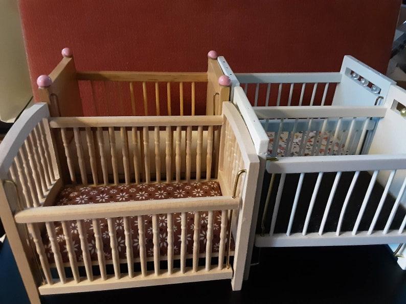 Choice of crib beds No need to buy a big set Dollhouse Nursery