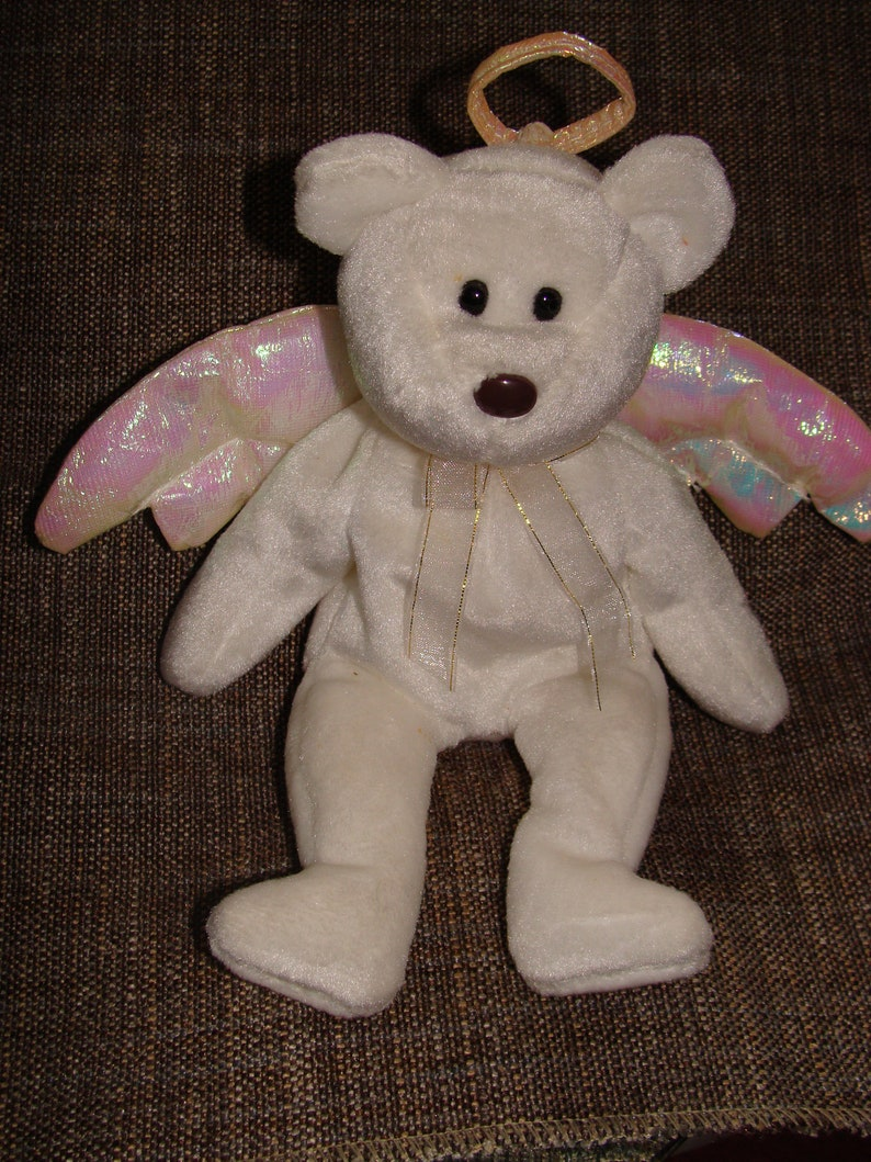 42ad2476626 Beanie Angel Halo Ty Beanie Angel From 1998