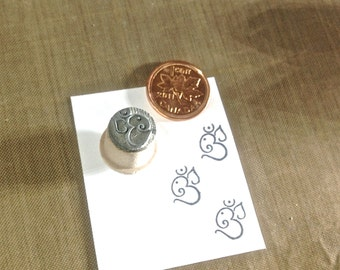 Ganesh Om Rubber Stamp MIX Y006