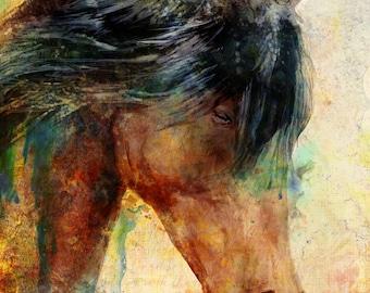 Praying Horse
