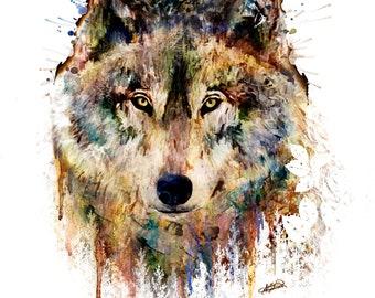 Untamed Terrain Wolf