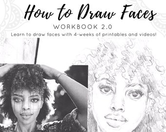 How To Draw Faces WorkBook 2.0