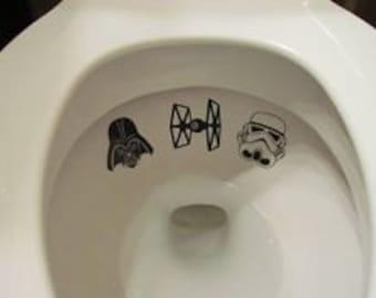Toilet sticker | Etsy