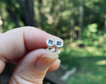 Star Stud Earrings, Silver Star Earrings, Small Silver Star Stud Earrings, Hypoallergenic Solid Sterling Silver Earrings, Star Earrings