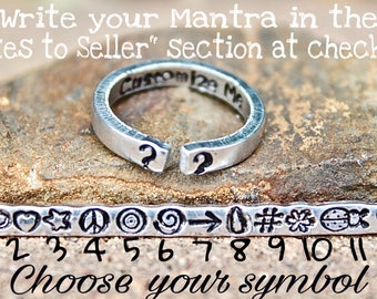 Create Your Own Mantra Ring