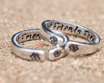 Best Friend Rings Etsy