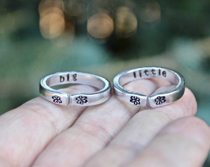 Big Little Sister Rings