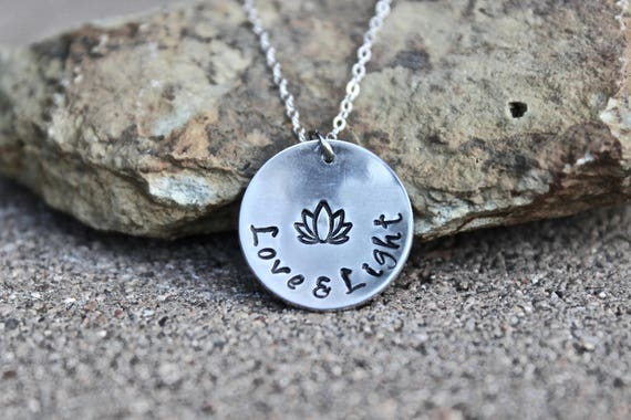 Lotus Love and Light Necklace