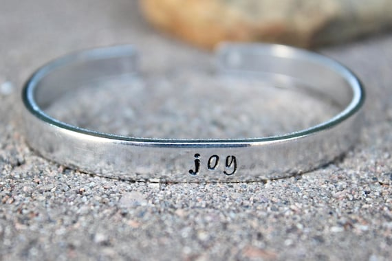 Joy Bangle Bracelet, Joy Bangle cuff, Joy Inspirational bracelet, Inspirational Word Bangle Joy Simple Bangle Cuff Simple Silver bangle cuff