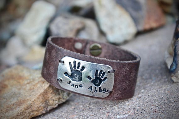 Handprints Bracelet