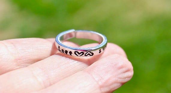 Breastfeeding Reminder Ring, Left Right Flip Ring to face Next Side, Breastfeeding Ring, Nursing Reminder Ring for New Mom, Baby Shower Gift