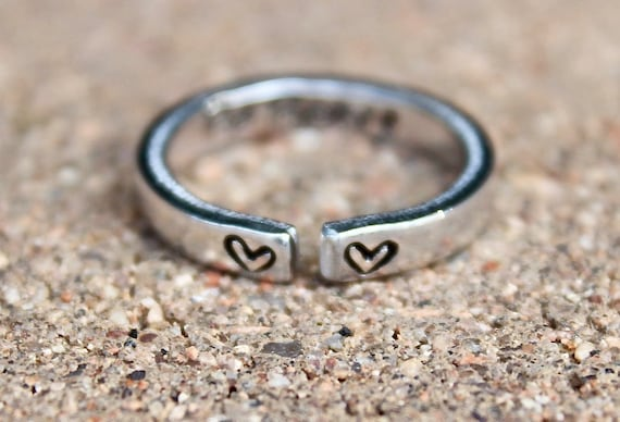 Be Brave Mantra Ring
