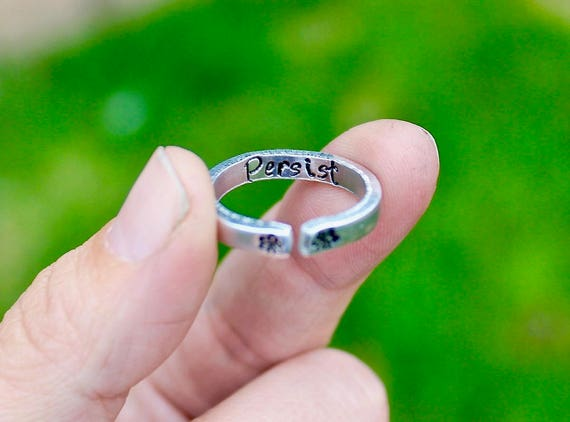 Persist Mantra Ring