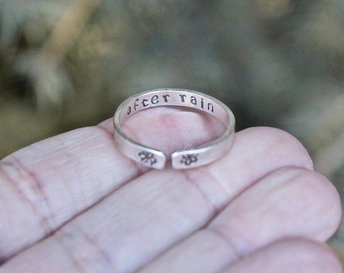 Sisters are Forever Ring
