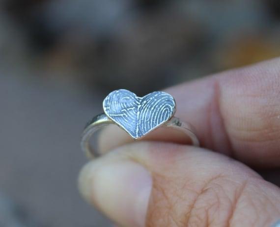 Two Fingerprints Form a Heart
