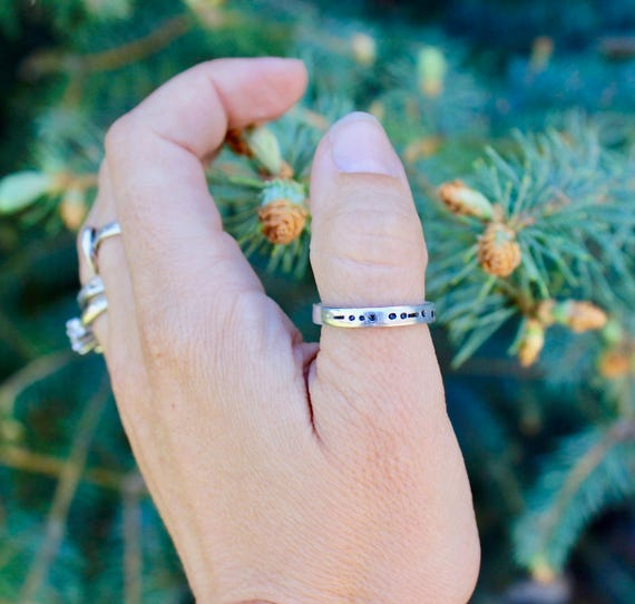 Best Friends Forever Morse Code Ring, BFF in Morse Code Ring, Best Friends Morse Code, Gifts for Best Friends, Best Friend Jewelry, BFF Ring