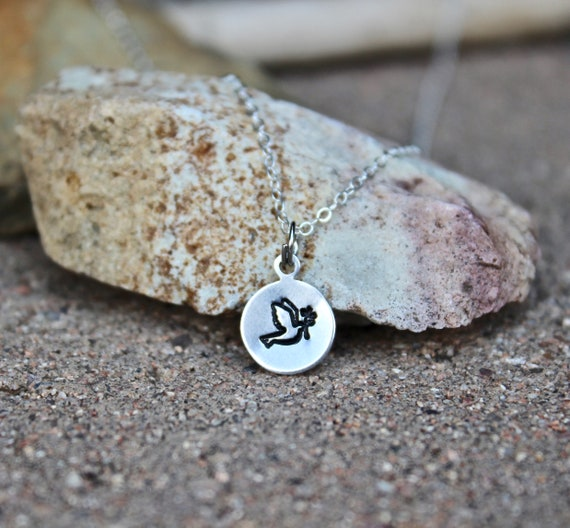 Dove Charm Necklace