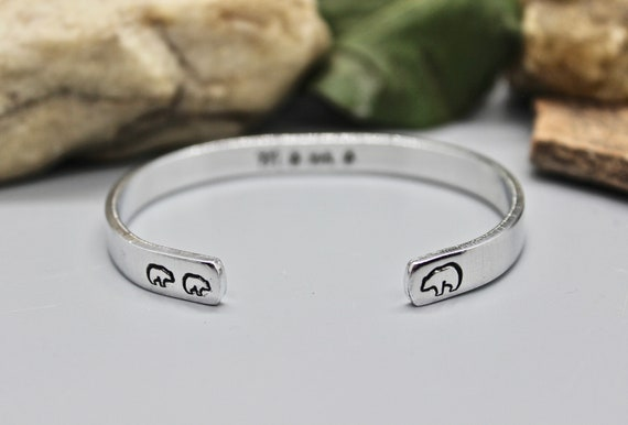 Mama Bear Bangle Bracelet