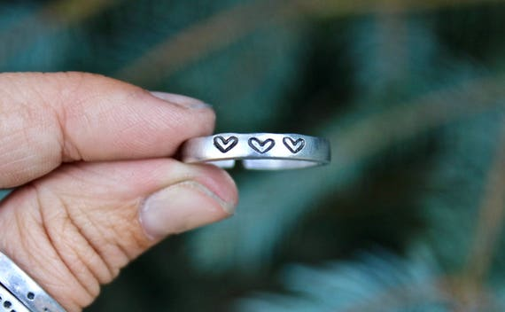 Hearts Mantra Ring
