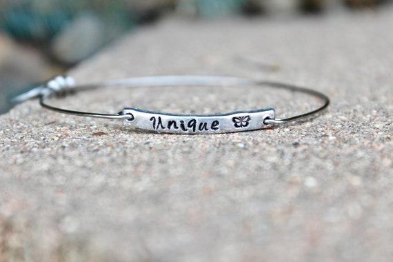 Unique Bangle Bracelet