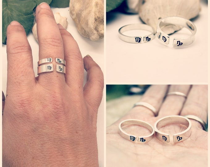 Zodiac Sign Couples Ring