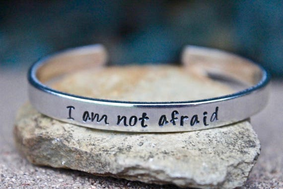 I am not Afraid Bracelet