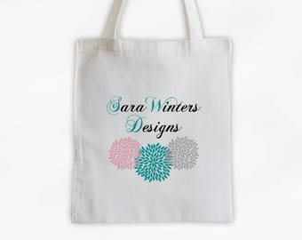 Print Your Logo Cotton Canvas Tote Bag - Custom Corporate Gift, Shopping Bag, Reusable Promotional, Convention, Trade Show Tote (3000)