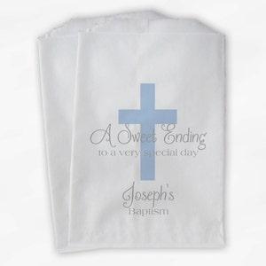 First Communion bapuvf03 Baptism Christening SCALLOPED FAVOR
